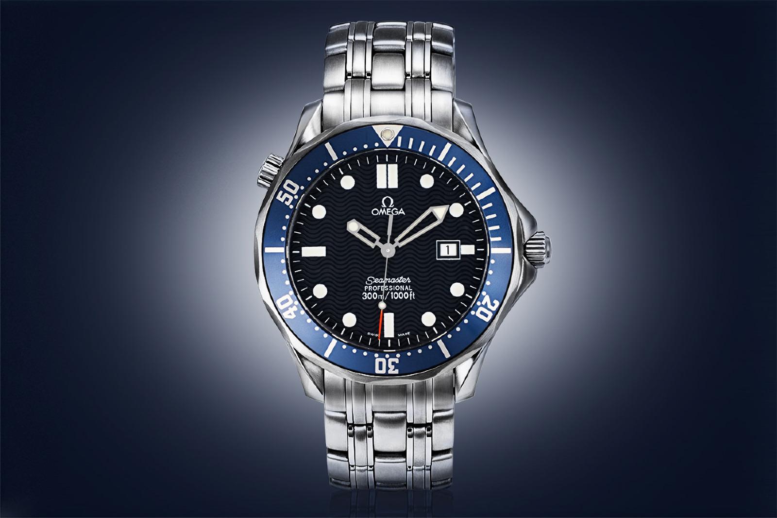 Watch photograph Omega Seamaster 300M