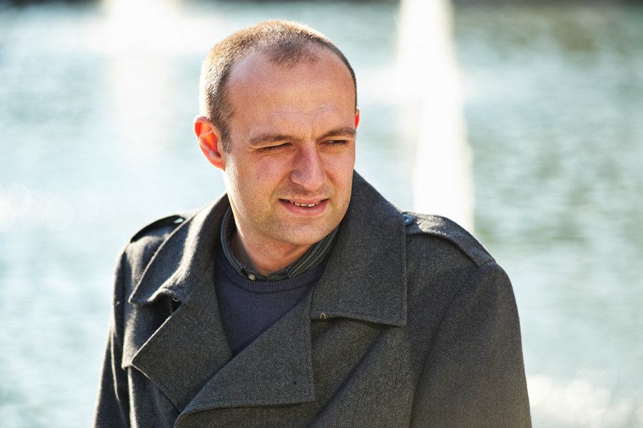 Portrait of Jamie Agombar, NUS Environmental Manager