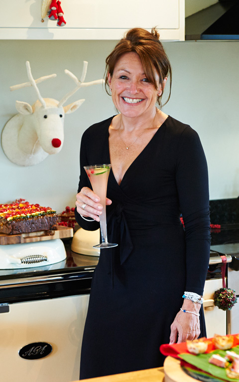 Belinda Williams in her North Yorkshire kitchen.