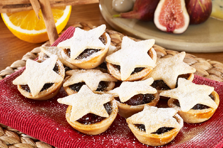 Mince pie anyone?. Food photography copyright Tony May 2013.