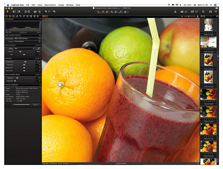 Capture One Version 4 reviewed by photographer Tony May.