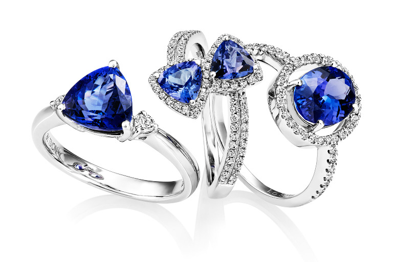 Tanzanite Ring Group