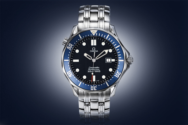 Watch photograph Omega Seamaster 300M