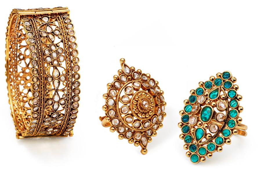 Indian costume jewellery