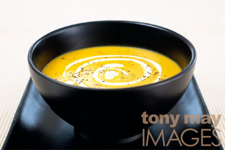food photographer leeds carrot soup