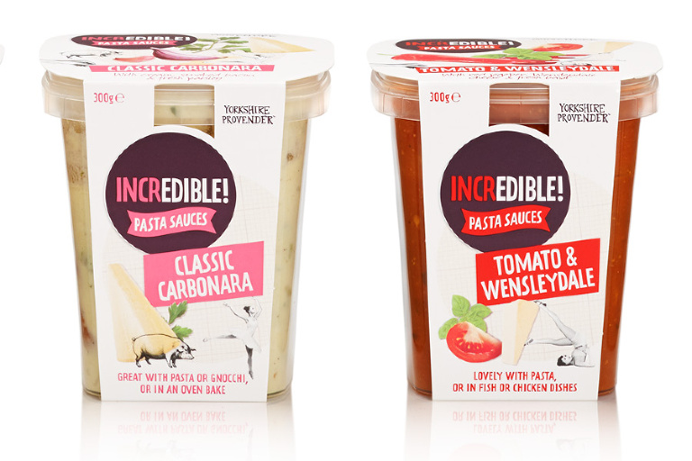 Yorkshire Provender Incredible Pasta Sauces