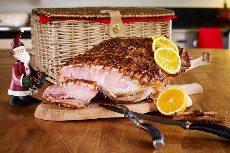 Glazed Yorkshire Ham and Hampe